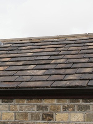 Yorkshire stone roof